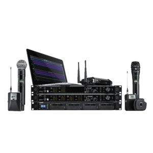 A wide range of amplifiers, mixers, network equipment and accessories for live performances. Everything from a single mixer to complete ecosystem of products.