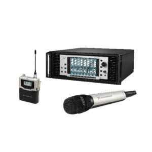 Wired and wireless microphones for live, broadcast and studio including live vocal, lavalier, headset, instrument, studio, camera mics and in ear monitors.