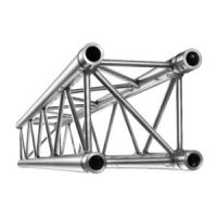 A full range of aluminium truss systems to support lighting, video and effects for the full range of entertainment applications.
