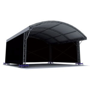 Small, Medium and Large scale event structures and concert roof systems, from world class manufacturers.
